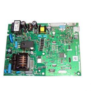 Электронные платы, трансформаторы и электроды розжига