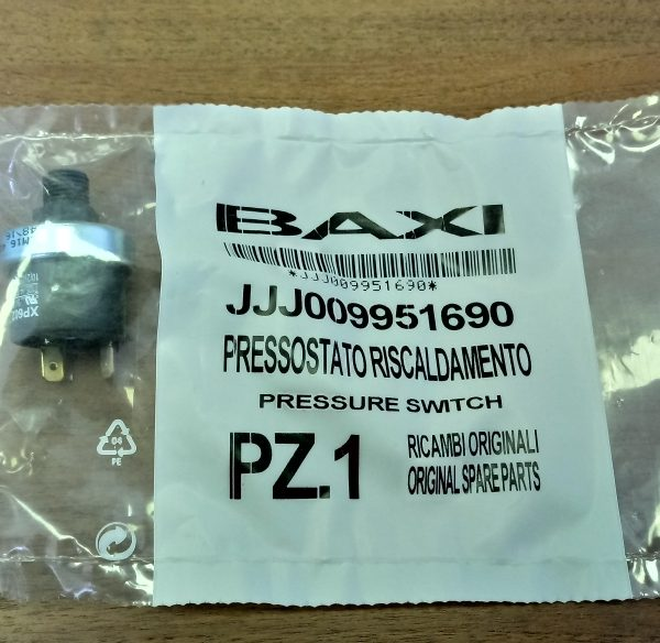Прессостат предохранительный для газового котла BAXI MAIN (9951690)