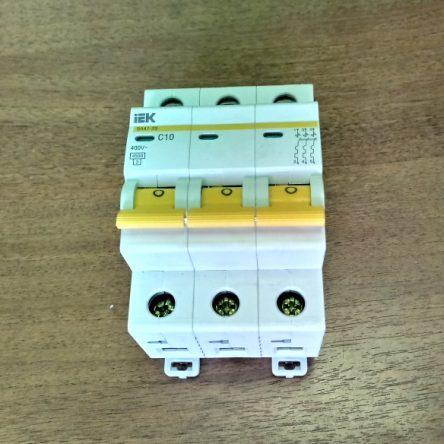 Автоматический выключатель для электрического котла Теплотех ЭВП- 4,5; 6 кВт