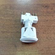 Кнопка электророзжига овальная белая ПКН-506