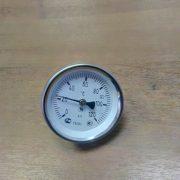 Термометр на трубу 25-40 мм биметаллический 0-120С d=50мм (скоба)