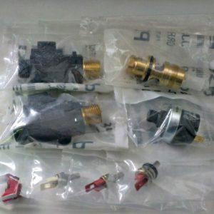 Датчики температуры, датчики потока, прессостаты отопления