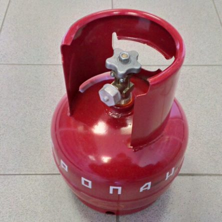 Баллон газовый НЗГА 5 литров с вентилем