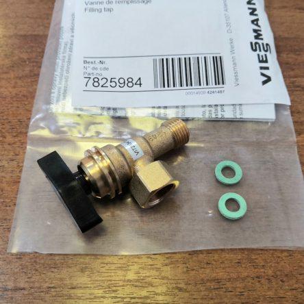Кран подпитки для газового котла Viessmann Vitopend WH1B, WHKB (7825984)