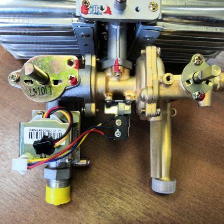 Водогазовый узел для колонки Ariston Fast R ONM 10 NG RU (65153161)