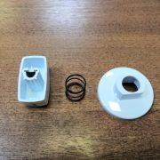Набор ручек к варочной поверхности Гефест СН 1210 (белый)