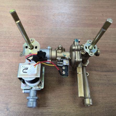 Водогазовый узел для газовой колонки Zanussi GWH 10 Fonte (501132008610)