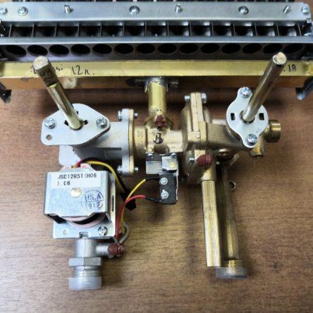 Водогазовый узел для газовой колонки Zanussi GWH 12 Fonte (501132008640)
