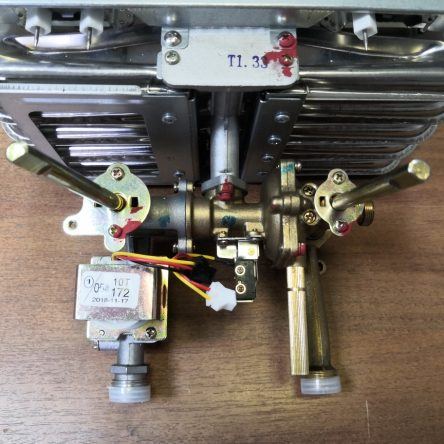 Водогазовый узел для газовой колонки Electrolux 10 Nano Plus 2.0 (501132008560)