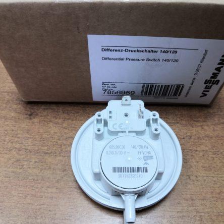 Пневмореле для котла Viessmann Vitopend 100W A1JB, A1HB 140/120 Ра (7856959)