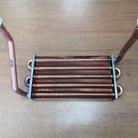 Теплообменник первичный для газового котла Buderus Logamax U072-24, U072-24K (87186439830)