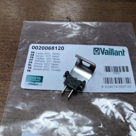 Датчик температуры NTC накладной 19мм для котлов Vaillant atmo/turboTEC (0020068120)
