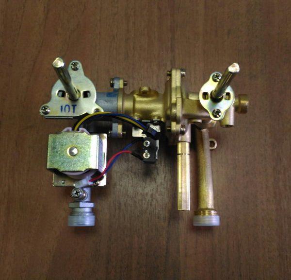 Водогазовый узел для газовой колонки Нева 4510М(010623B806)