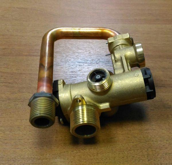 Клапан трехходовой (500.319) для котла Neva Lux 8224,8624,8230(30036605600830)