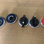 Комплект ручек для газовых плит универсальный (шток 6 мм)