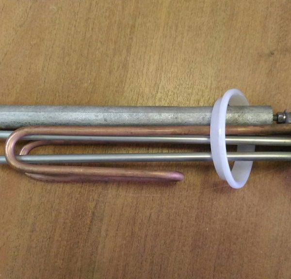 ТЭН RF прижимной фланец 92 мм. 1,5 кВт Гарантерм, Аристон, Эталон, Эдиссон, АТТ.