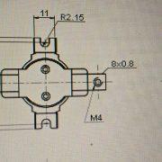 Термостат KSD301C 250V25A 110