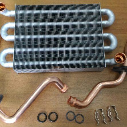 Теплообменник первичный для газового котла Ariston HS X 24 FF (65119090)